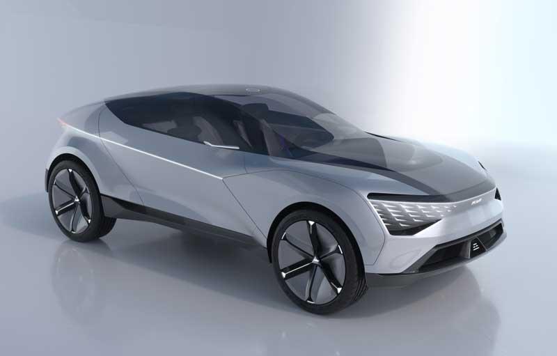 Kia представила концепт полноприводного кроссовера Futuron