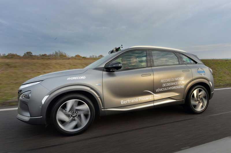 Hyundai установил рекорд дальности пробега на водороде