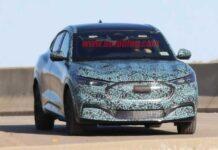 Кроссовер Ford на базе Mustang проходит финальные испытания