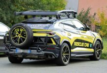 Lamborghini превратила Urus в автомобиль для спасателей