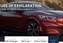 Электрический Ford Mustang Mach-E полностью рассекречен