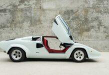 Уникальный Lamborghini Countach выставят на аукцион
