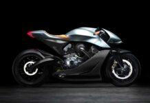 Aston Martin представила мотоцикл за 108 тысяч евро