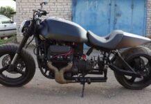 В Беларуси построили мотоцикл с мотором от ЗАЗ