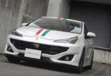 Умельцы попытались превратить Toyota Prius в Ferrari Portofino