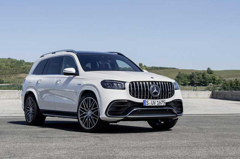 Mercedes-AMG добавила мощности модели GLS