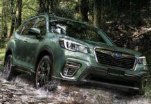 Subaru Forester получил непромокаемые сиденья