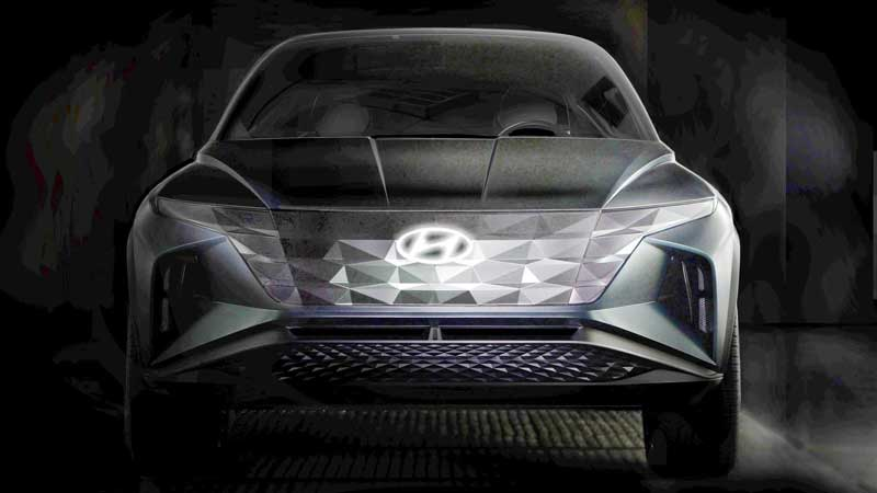 Hyundai интригует концептом гибрида без фар и зеркал