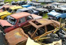 С улиц Киева уберут брошенные автомобили