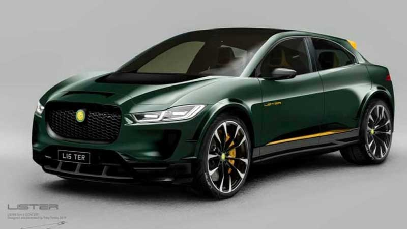 Jaguar I-Pace получил