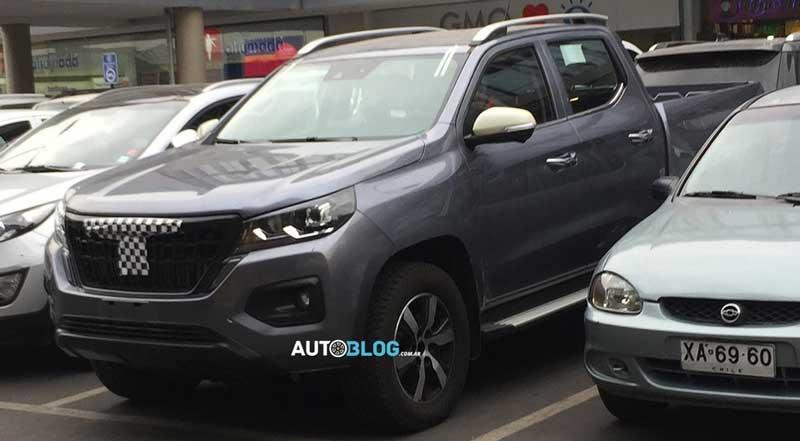 Peugeot построит рамный пикап