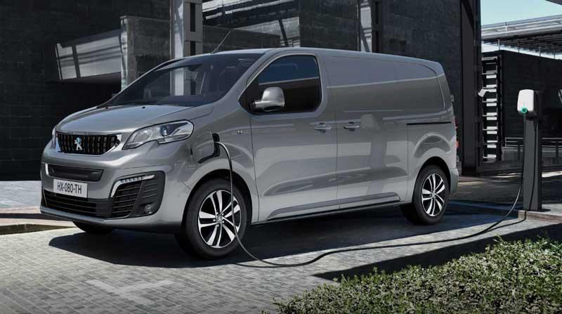 Peugeot построила электрофургон на базе модели Expert