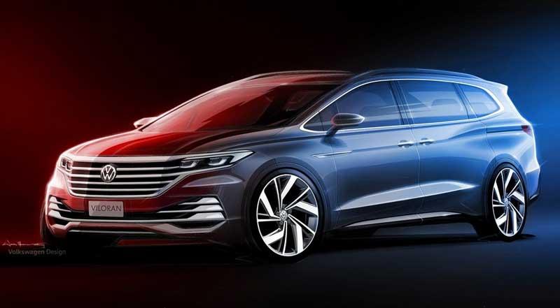 Volkswagen показал внешность нового минивэна