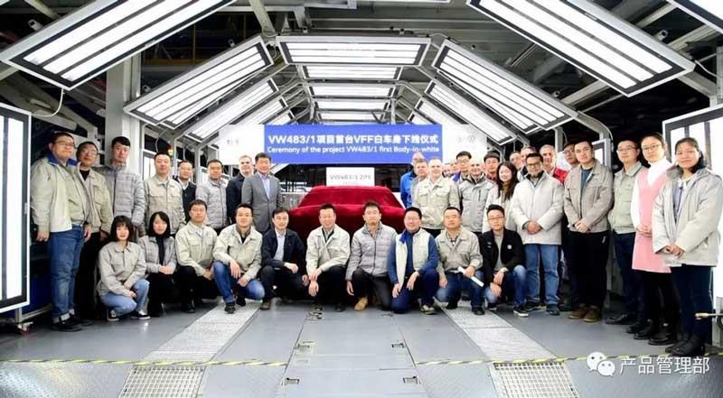 Volkswagen начал производство некой новой модели