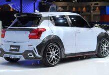 Хэтчбеку Suzuki Swift добавили спортивный обвес