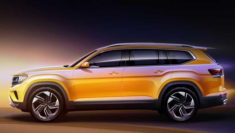 Volkswagen обновил кроссовер Atlas