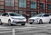 Toyota Corolla против Hyundai Elantra