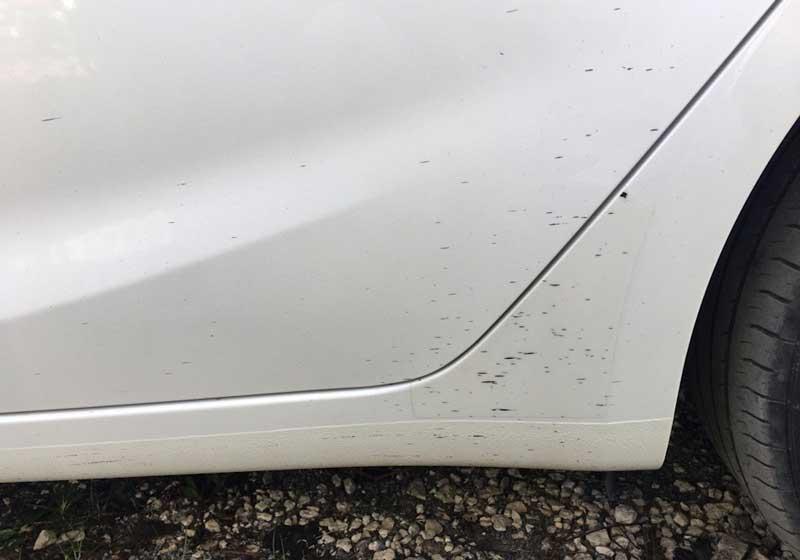 Как удалить пятна битума с кузова автомобиля