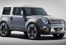 """У Land Rover Defender может появиться """"младший брат"""""""