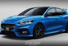 Ford Focus RS может стать мощнее AMG A 45 S