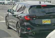 Новый универсал Subaru попался фотошпионам
