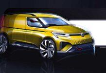 Volkswagen показал первые изображения нового Caddy