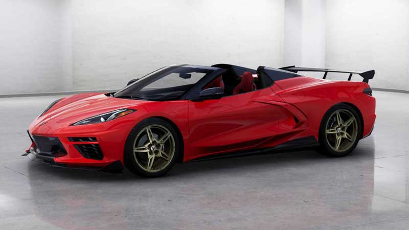 Двух инженеров GM задержали за уличные гонки на Chevrolet Corvette