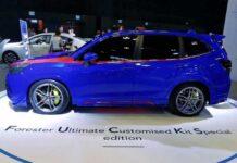 Subaru Forester получил спецверсию с неприличным названием