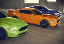 Полиция купила Ford Mustang за деньги от штрафов