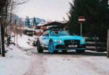 Bentley построила внедорожную версию Continental GT