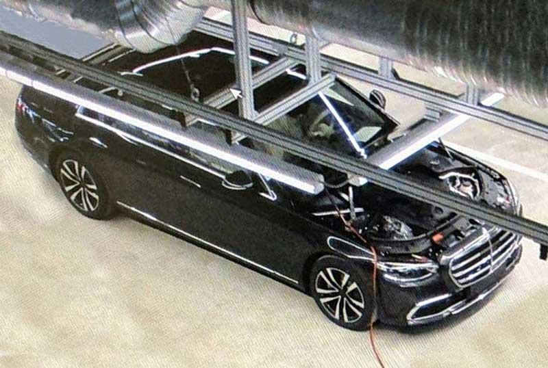 Фотошпионы поймали новый Mercedes-Benz S-Class