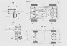 Ferrari запатентовала платформу для собственного электромобиля