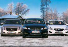 Cadillac CTS против Lexus GS против Volvo S60
