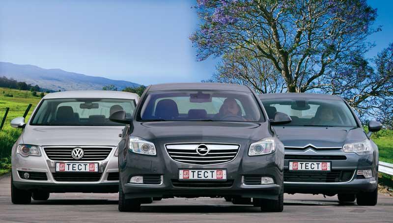 Opel Insignia — Citroёn C5 — VW Passat