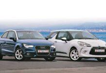 Audi A1 против Citroen DS3