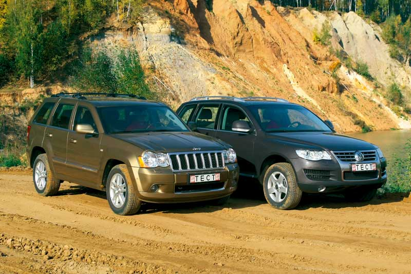 Jeep Grand Cherokee — Volkswagen Touareg