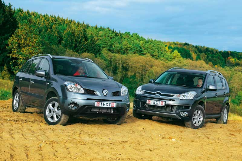 Renault Koleos против Citroen C-Crosser