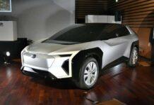 Subaru показала концепт электромобиля, разработанного вместе с Toyota