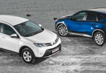 Toyota RAV4 против Mazda CX-5. Сравнительный тест