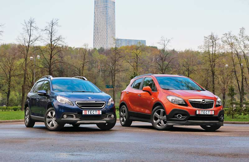 Сравнительный тест. Peugeot 2008 против Opel Mokka