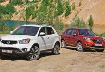 Renault Koleos — SsangYong New Korando