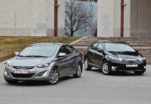 Сравнительный тест. Hyundai Elantra против Toyota Corolla