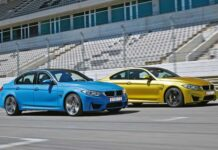 Тест-драйв BMW M3 и M4. Раздвоение личности