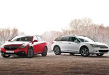 Opel Insignia Country Tourer и Citroёn C5 Cross Tourer