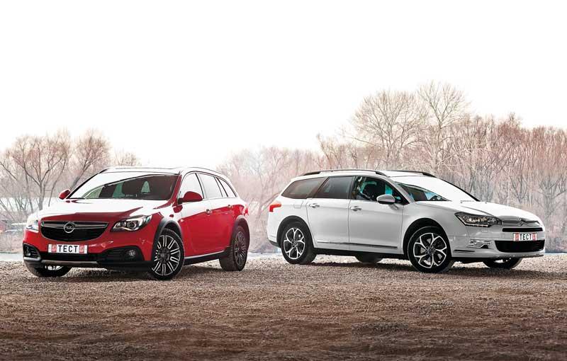 Opel Insignia Country Tourer и Citroёn C5 Cross Tourer