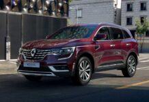 Обновленный Renault Koleos в Украине. Объявлены цены