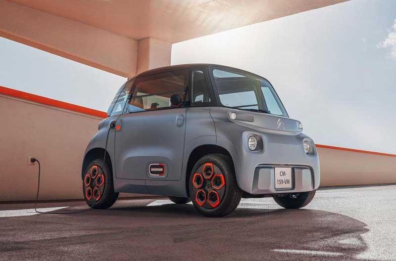 Citroen представила серийный электромобиль за 6 тысяч евро