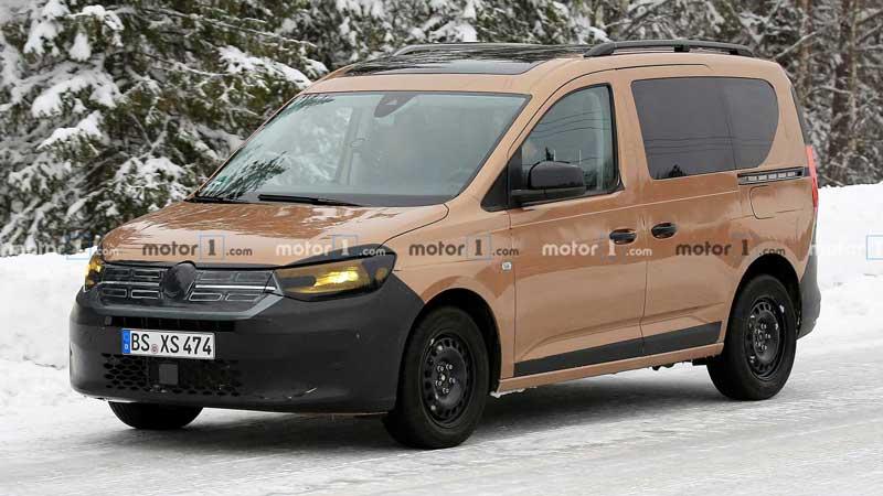 Прототип нового Volkswagen Caddy похож на Renault Dokker