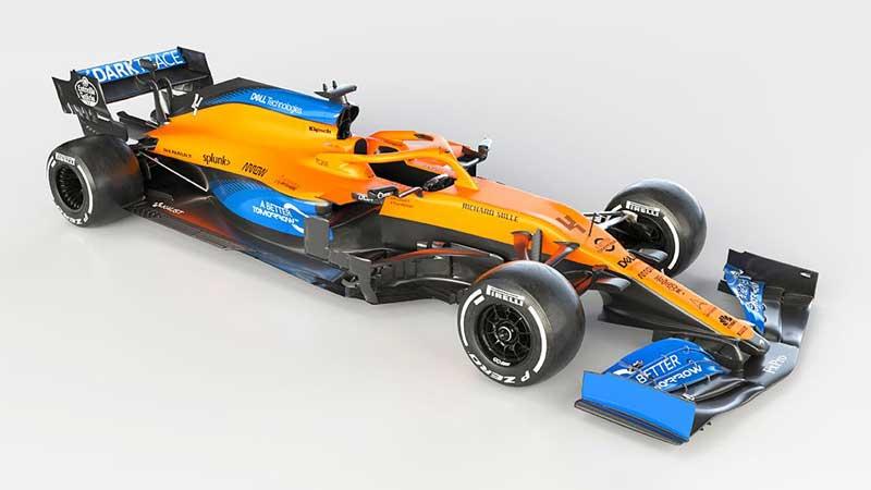 McLaren показала болид MCL35