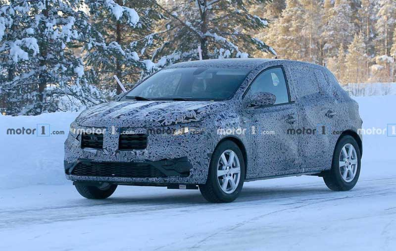 Renault Sandero третьего поколения - новые подробности